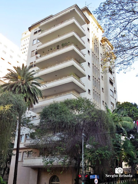 Vista ampla do Edifício Aracaju - Higienópolis - São Paulo
