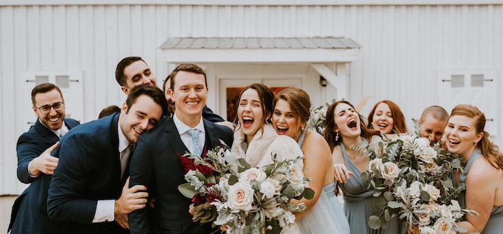 A North Georgia Wedding with Proteas and Plenty of Venezuelan Flair