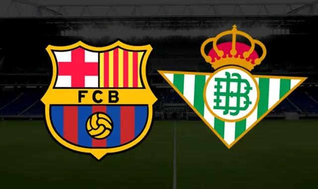 برشلونة و ريال بيتيس والتشكيلات 17-3-2019