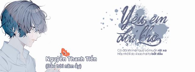 PSD Yêu Em Dại Khờ - By Nguyễn Thanh Tiến