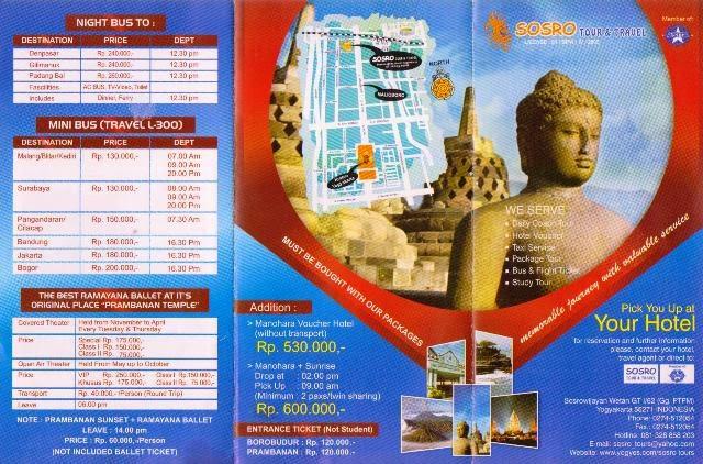 Brosur Wisata Pangandaran