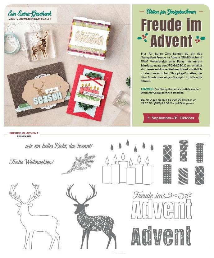 Freude im Advent - eine Aktion für Gastgeber