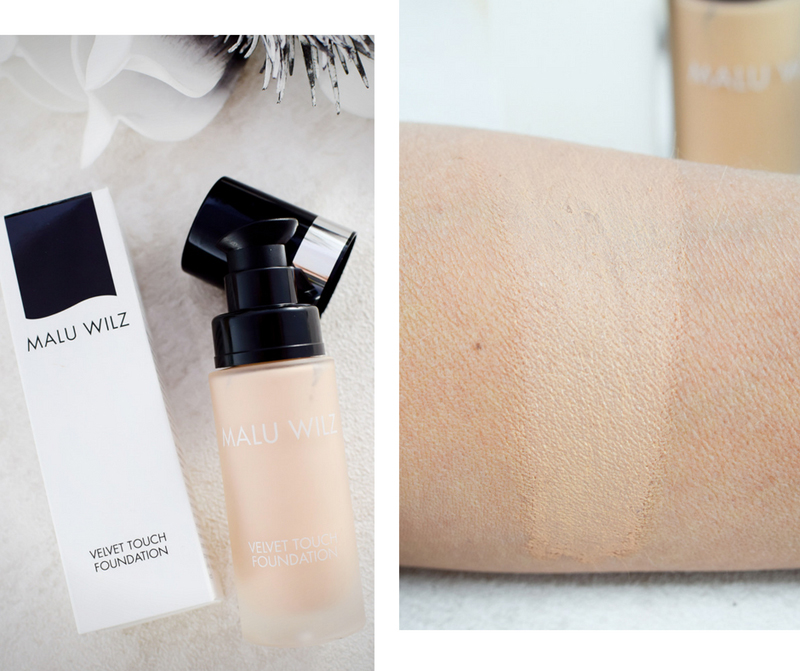 Malu Wilz Velvet Touch Foundation, Swatch