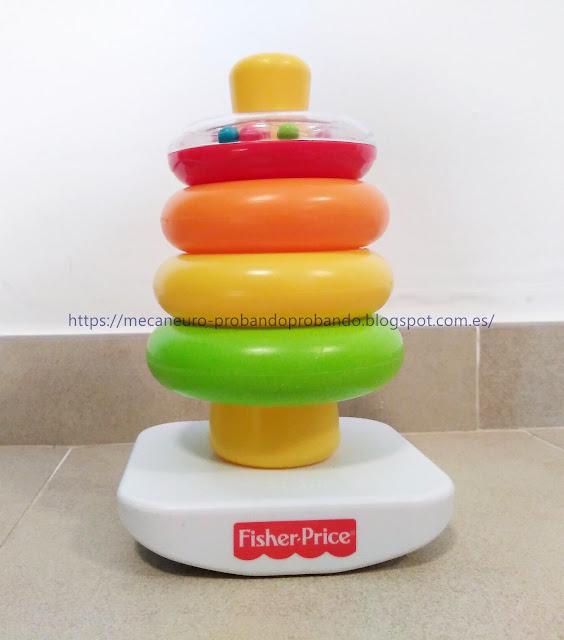 Fisher Price pirámide balanceante