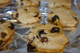 Kicking Carbs To The Curb Chocolate Cherry Cookies