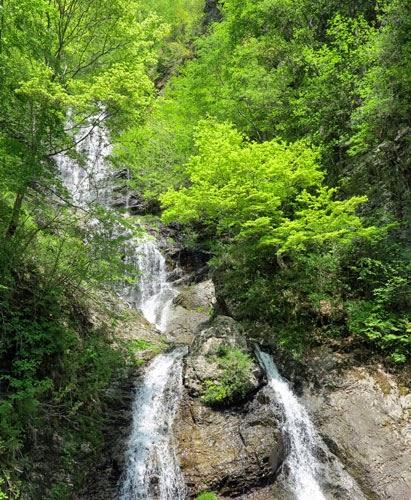 Karasawa Waterfall, Kiso, Nagano, Japan