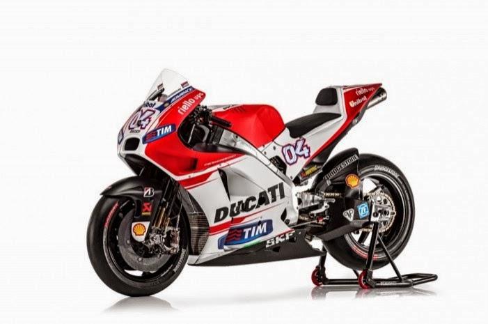 Spesifikasi dan mini galeri Ducati GP15