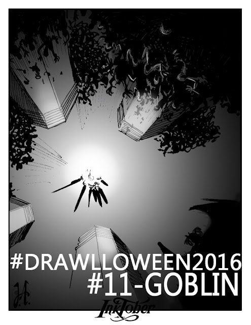 drawlloween-inktober-lucyowlart-goblin