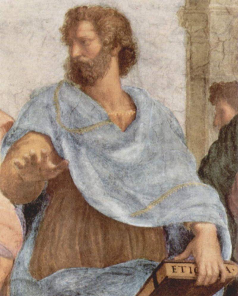 Aristotele ritiene che la dipendenza da molti beni sia addirittura dannosa