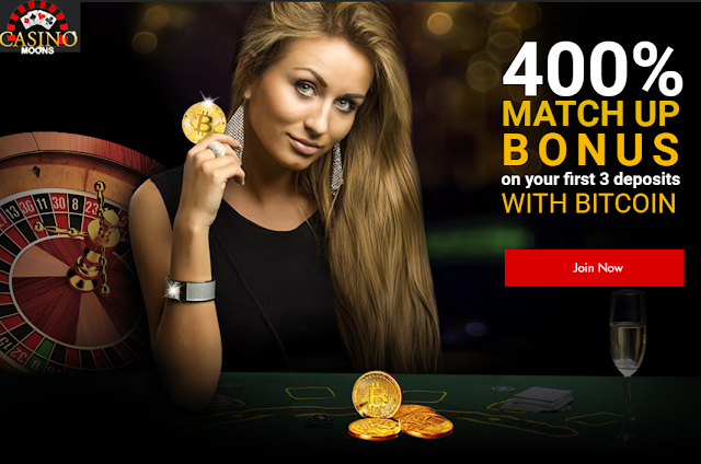 Bitcoin Bonus from Casino Moons