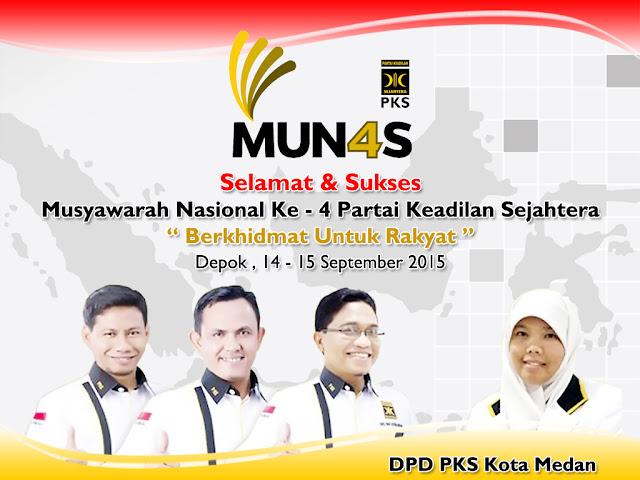 Selamat Munas PKS Ke-4, Berkhidmat Untuk Rakyat