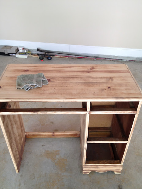 Closet Revamp Desk Vanity