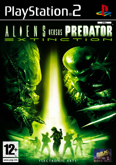 Aliens Versus Predator Extinction PAL PS2