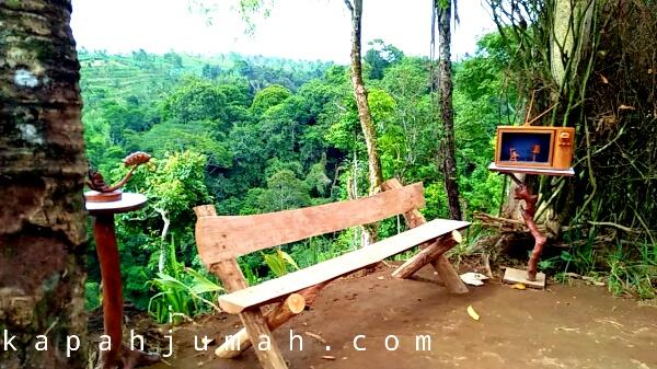 Suasana Pondok Asri desa Kerta Payangan Gianyar