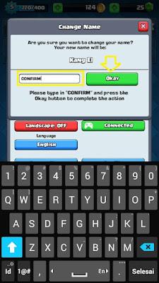 Cara Mudah Ganti Nama Akun Game Clash Royale
