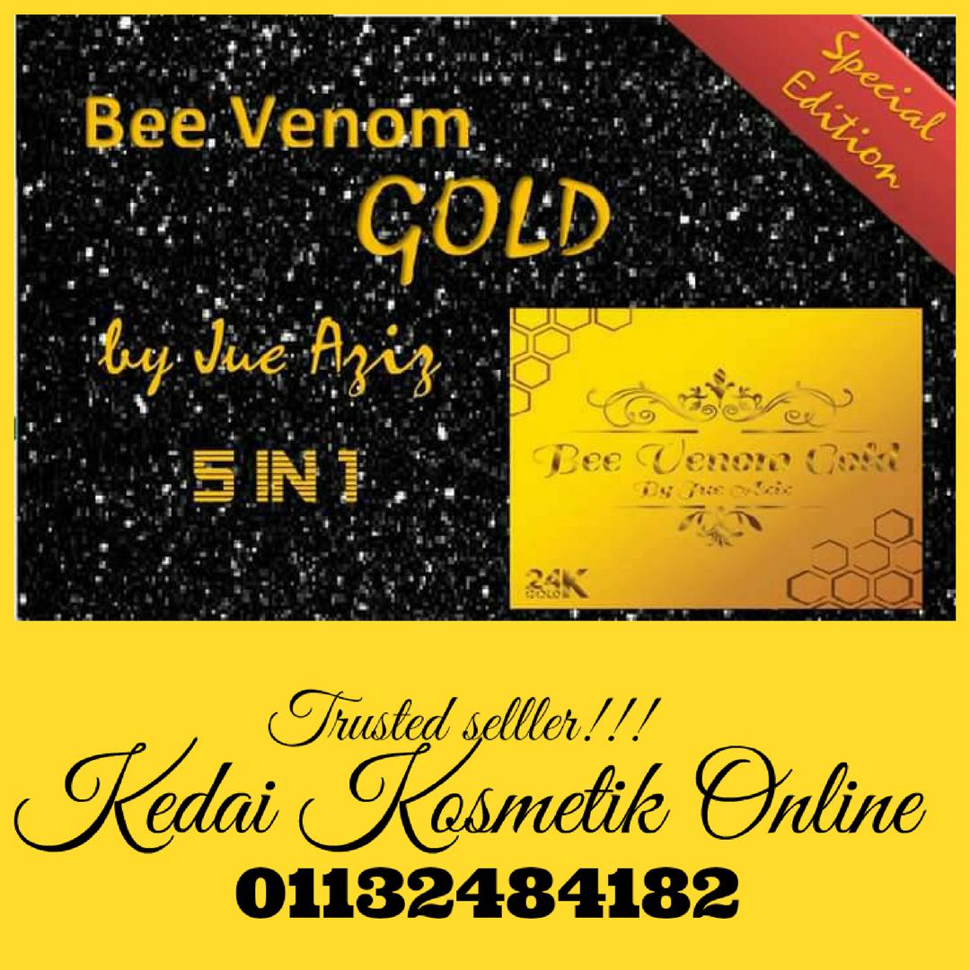 BEE VENOM GOLD SKINCARE 5IN1 TERBARU 2017