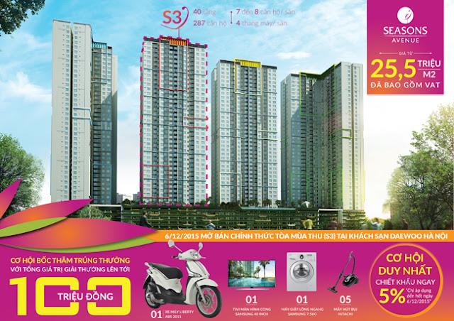 Ngân hàng bảo lãnh dự án Seasons Avenue Mỗ Lao