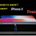"""""""I phone X """"features and specifications of i phone x,I phone 8 and 8 plus"""