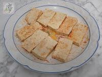 Delicias de Tofu y Verduras sobre Hojaldre. Receta Vegana.
