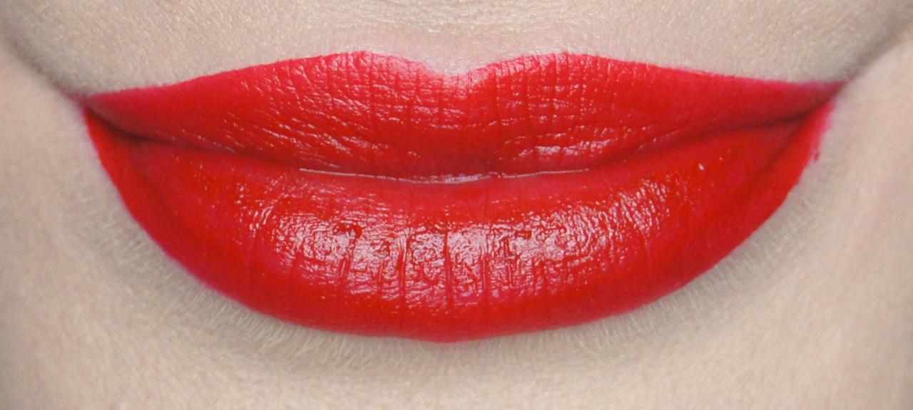 rimmel apocalips matte lip velvet 505 burning lava swatch