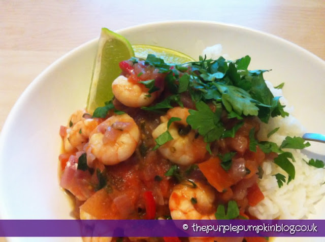 Spicy Creole Prawns | The Purple Pumpkin Blog