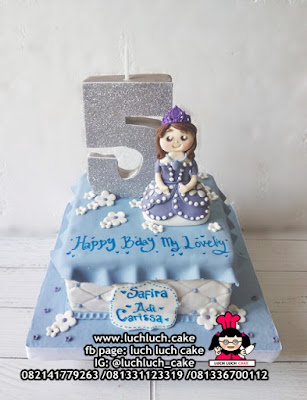 Princess Sofia The First Fondant Cake