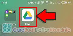 cara membuka google drive di gmail