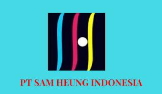 Lowongan Kerja PT. Samheung Indonesia - Operator Produksi