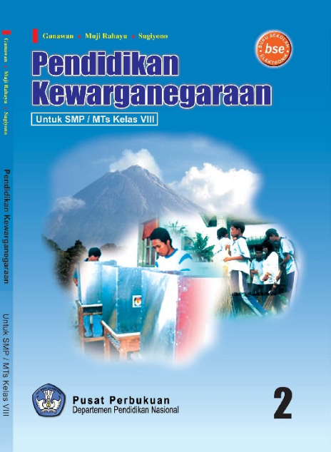Download Buku Siswa KTSP SMP dan MTs Kelas 8 Pendidikan Kewarganegaraan 2