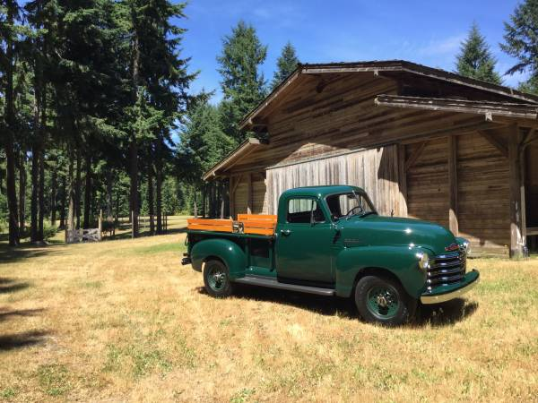 1952 Chevy 3100 Short Bed