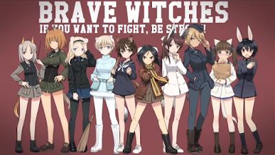 """Anunciados los seiyuus principales del anime """"Brave Witches"""""""