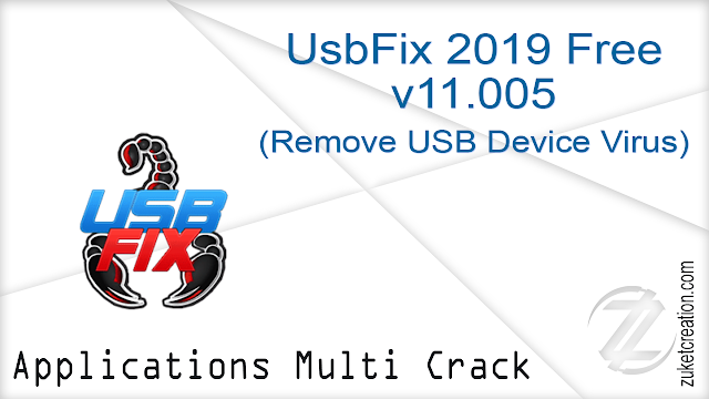 UsbFix 2019 Free v11.005 (Remove USB Device Virus)