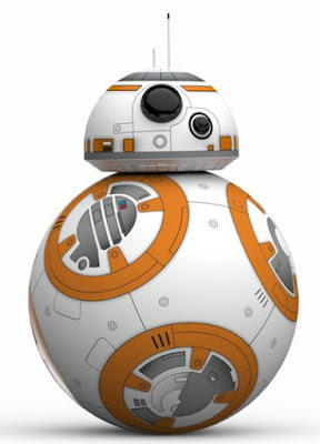 robot BB-8 from Star Wars