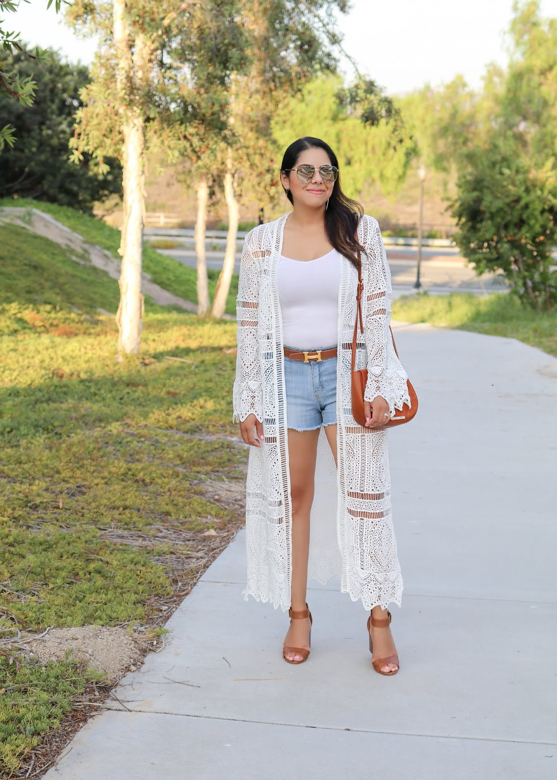 chic summer outfits, chicwish long kimono, what to wear to a summer party
