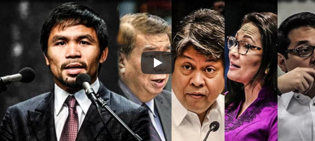 LOOK: Sen.Pacquiao Removes LP Senators as Chairmanship inside Senate