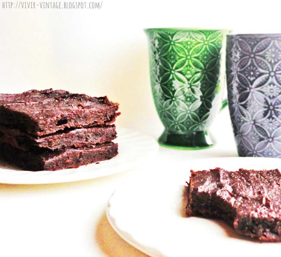 brownies sanos sin harina