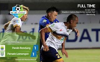 Video Cuplikan Gol Persib Bandung vs Persela Lamongan 1-1 #Liga1