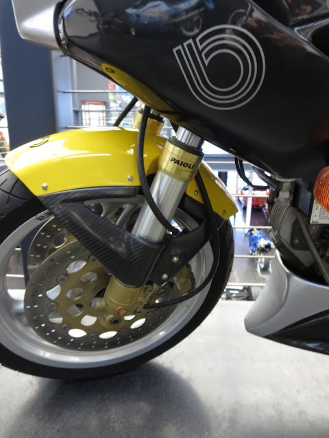 Bimota Mantra Front Suspension