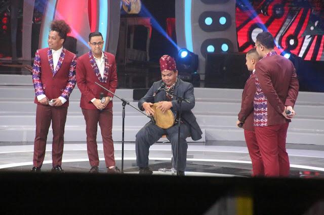 Madihin Kalsel Bikin Liga Dangdut Indonesia Meriah