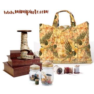 Craft bag handmade by Mimi Pinto