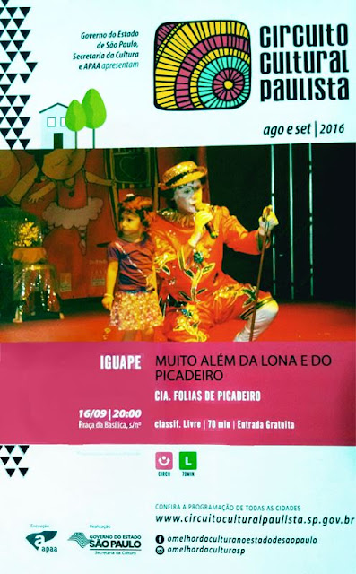 Evento do Circuito Cultural Paulista em Iguape