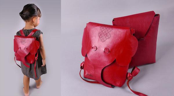 tas backpack anak kulit