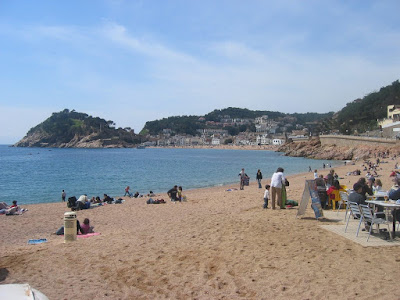 Menuda beach in Tossa de Mar