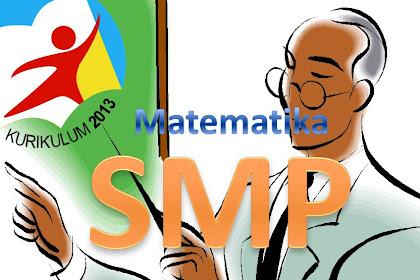 Download Materi Matematika SMP Kurikulum 2013 Lengkap