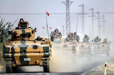 Militer Turki dan Pemberontak Suriah Saling Bantu Usir Pasukan ISIS Di Kawasan Perbatasan - Commando