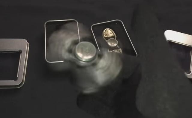 Spinner Titanium Tiedc