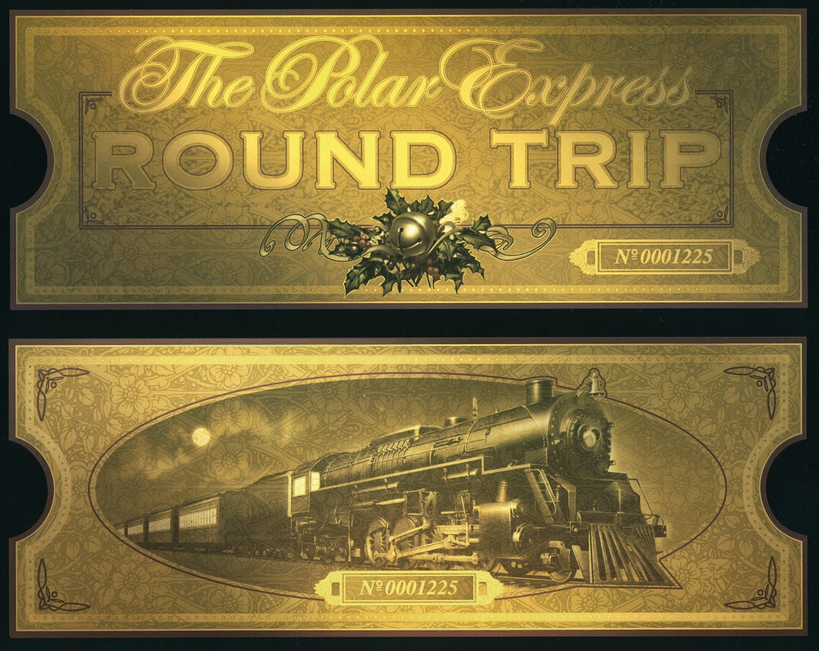 polar express golden ticket template - for the love of the child the polar express birthday