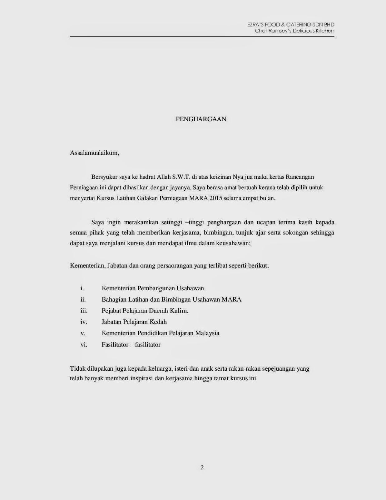 37127698 Contoh Kertas Kerja Rancangan Perniagaan Koperasi