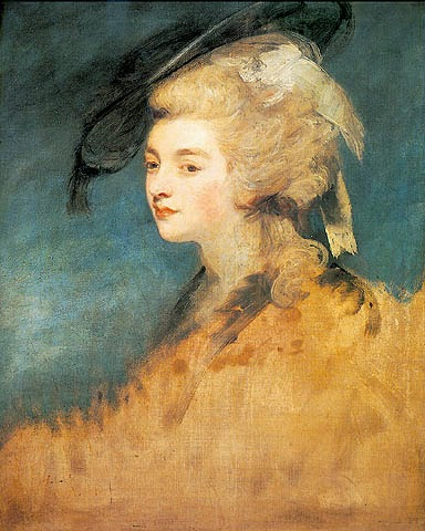 Georgiana, Duchess of Devonshire by Joshua Reynolds,1780-81