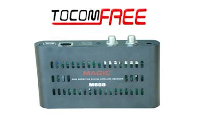 Magic M600 Atualização V1.33 Keys 87.2w 29/06/2017